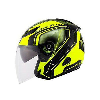 Casco Hellcat Superfluo Giallo KYT