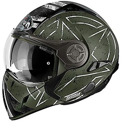 Casco J-106 Command verde Airoh