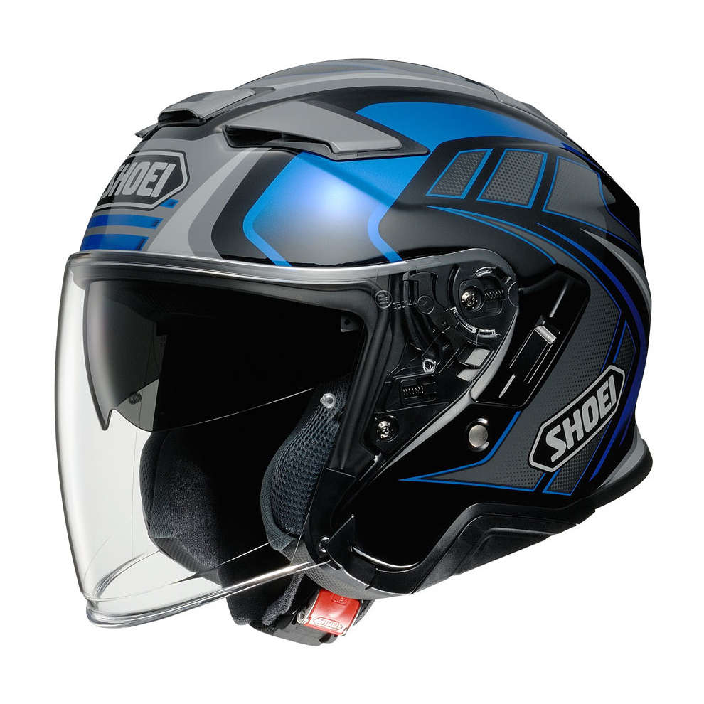 Casco J-Cruise 2 Aglero Blu Shoei