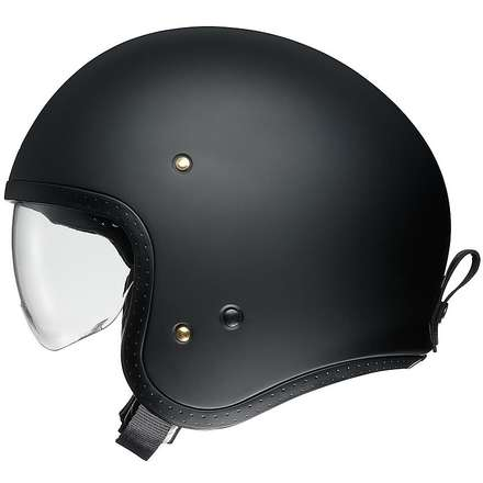 Casco J-O Matt Black Shoei
