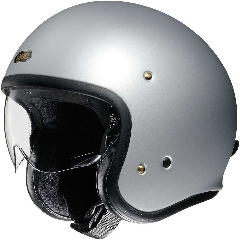Casco J-O Unic Matt Light Silver Shoei