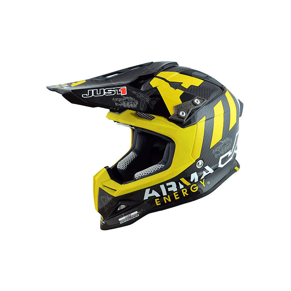 Casco J12 Arma Energy Carbon  Just1