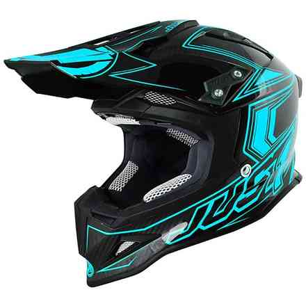 Casco J12 Carbon Blu Just1