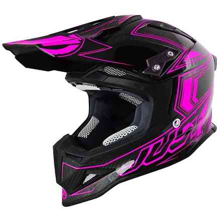 Casco J12 Carbon Rosa Just1