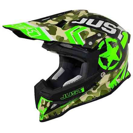 Casco J12 Kombat Verde Just1