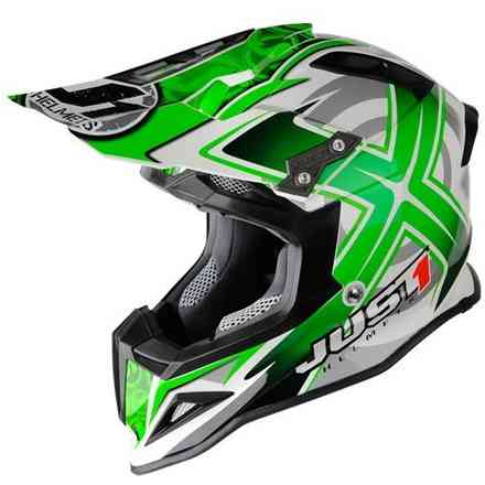 Casco J12 Mister Carbon Verde Just1