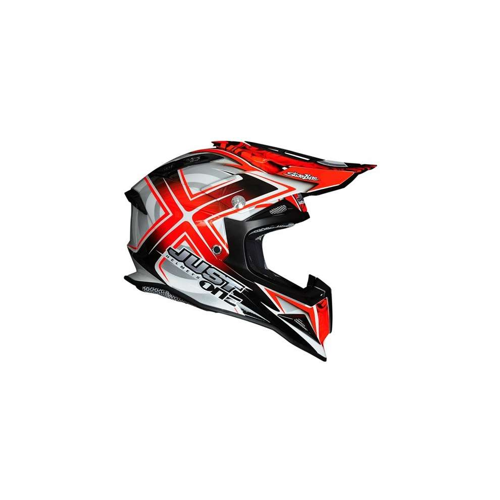 Casco J12 Mister X Rosso Just1