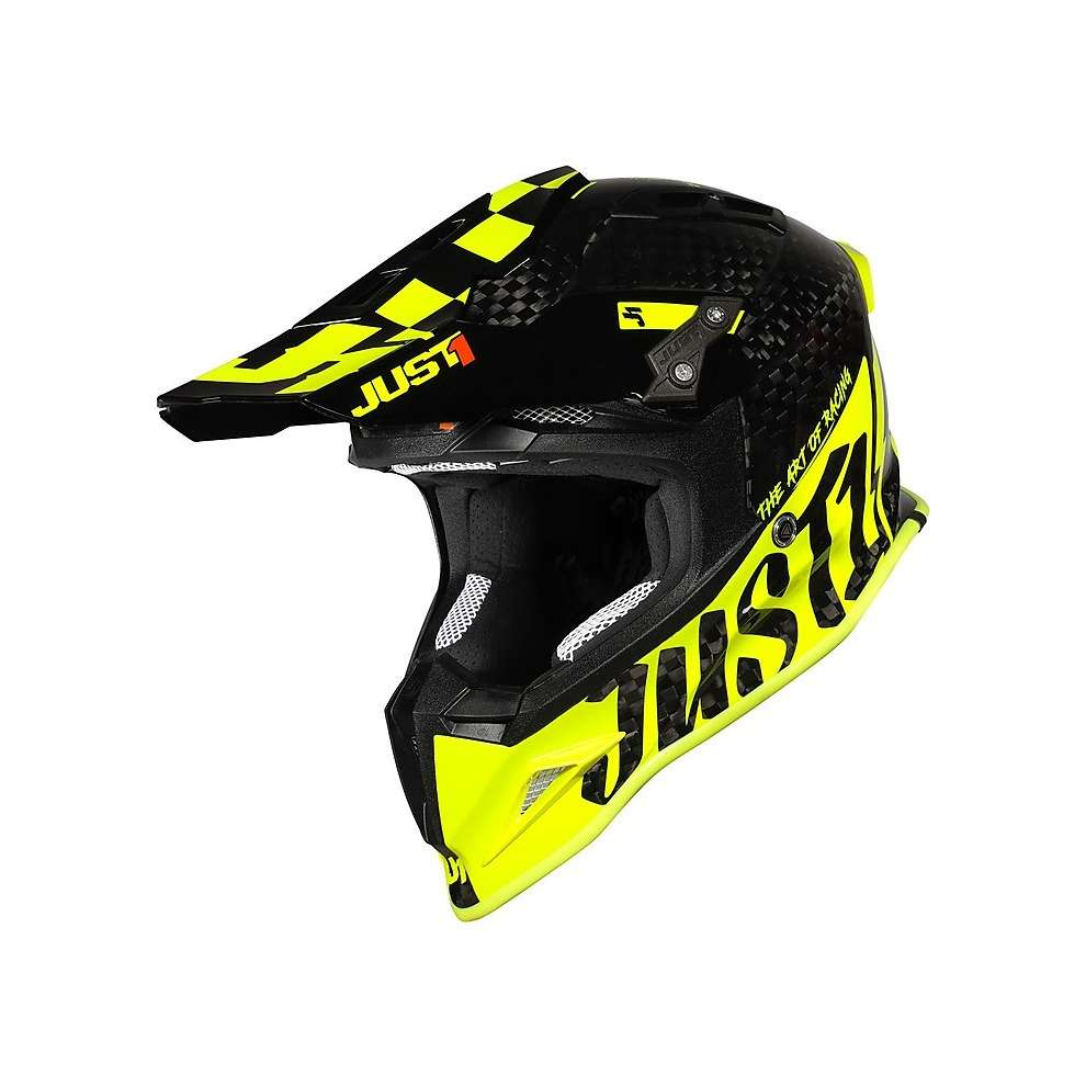 Casco J12 Pro Racer Giallo Just1