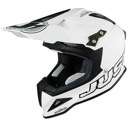 Casco J12 Solid Bianco Just1