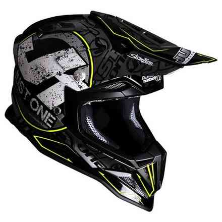 Casco J12 Stamp Nero Just1