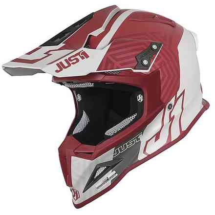 Casco J12 Syncro Bordeaux Just1