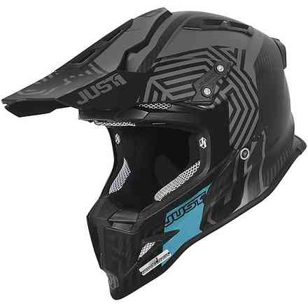 Casco J12 Syncro Carbon Nero Just1