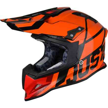 Casco J12 Unit Arancione Just1