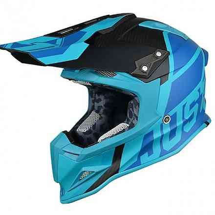 Casco J12 Unit Light Blu Just1