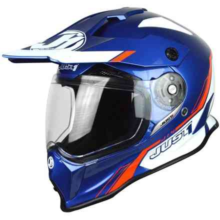 Casco J14 Line Blu Just1