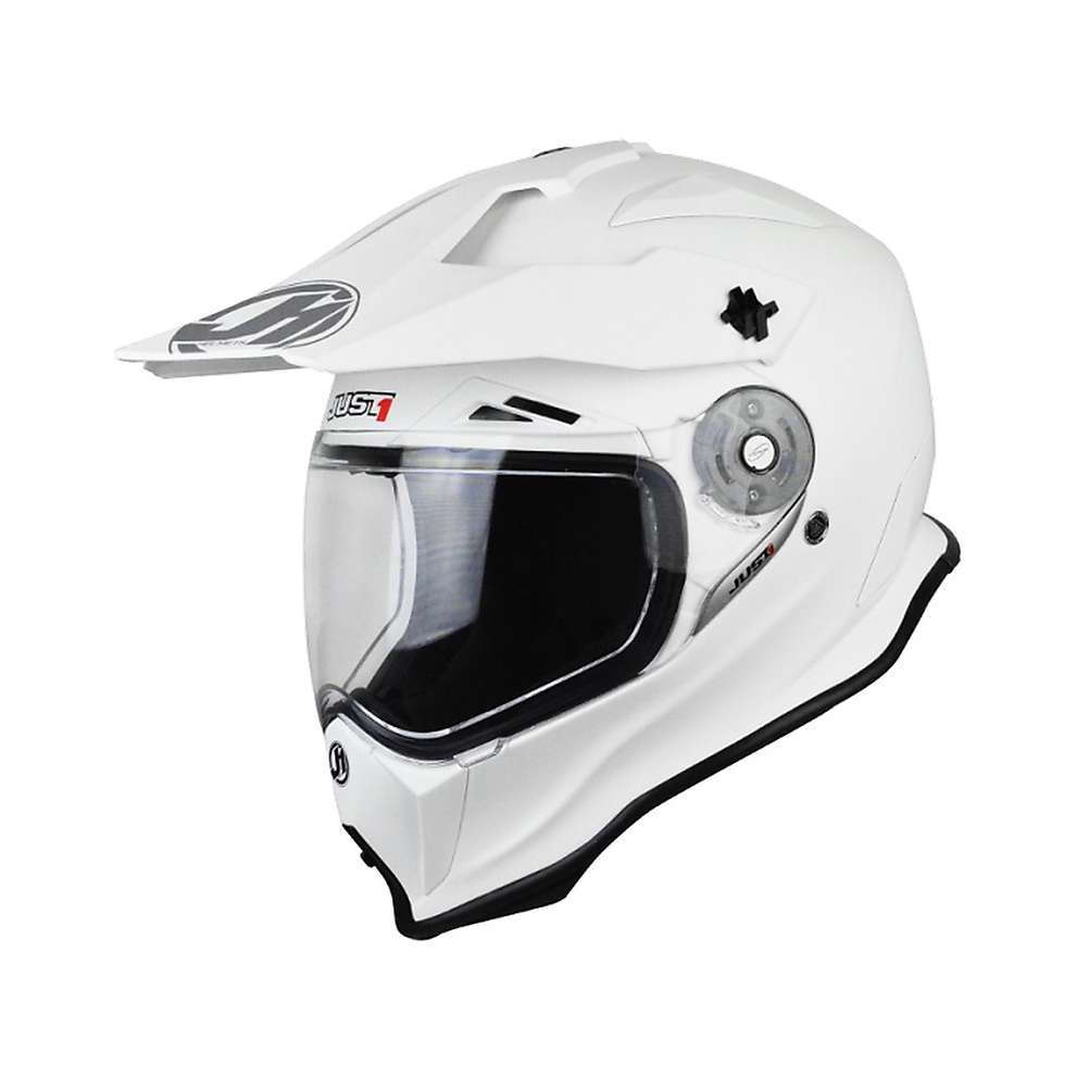 Casco J14 Solid Bianco Just1