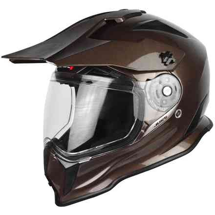 Casco J14 Solid Marrone Just1