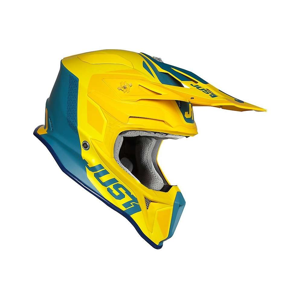 Casco J18 Pulsar Giallo-Blu Just1