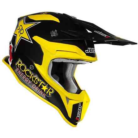 Casco J18  replica Rockstar  Just1