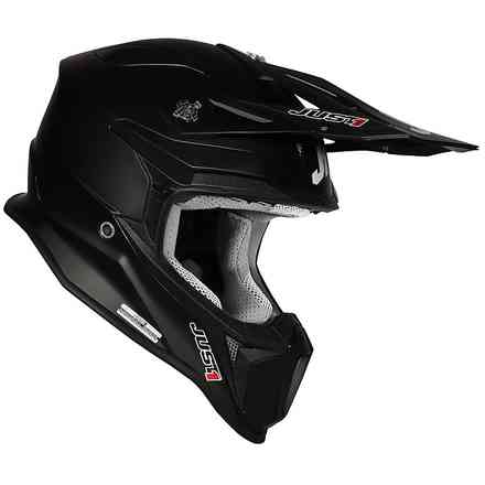 Casco J18 Solid Nero Just1