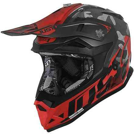 Casco J32 Pro Camo Red Fl Matt Just1