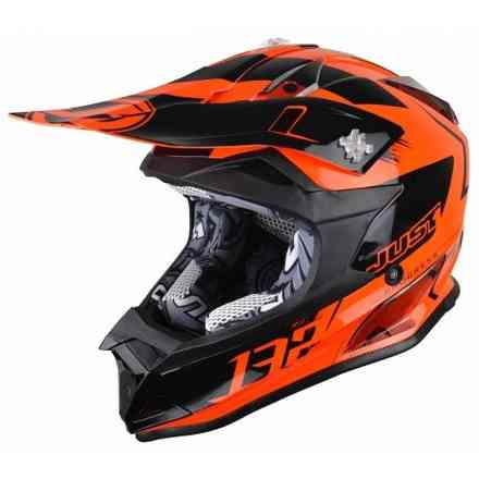 Casco J32 Pro Kick Arancione Just1