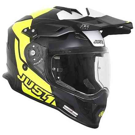 Casco J34 Pro Tour Giallo fluo/Nero Just1