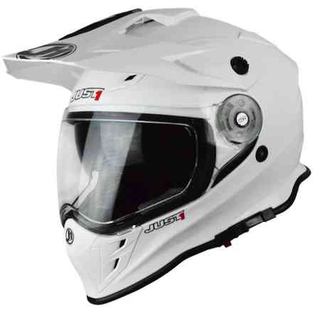 Casco J34 Solid Bianco Just1