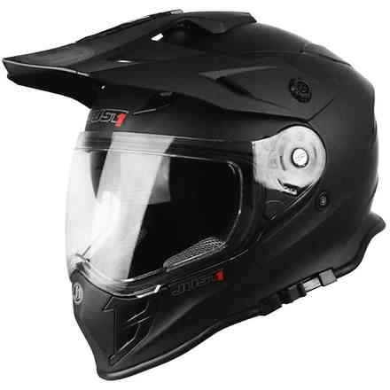 Casco J34 Solid Nero Just1