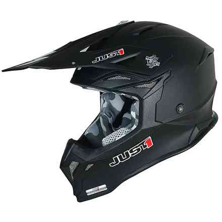 Casco J39 Solid Nero Just1