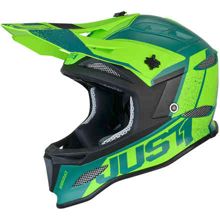 Casco Jdh Assault Verde Just1