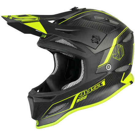 Casco Jdh Elements Giallo-Nero Just1