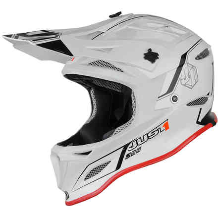 Casco Jdh Elements Nero-Bianco Just1
