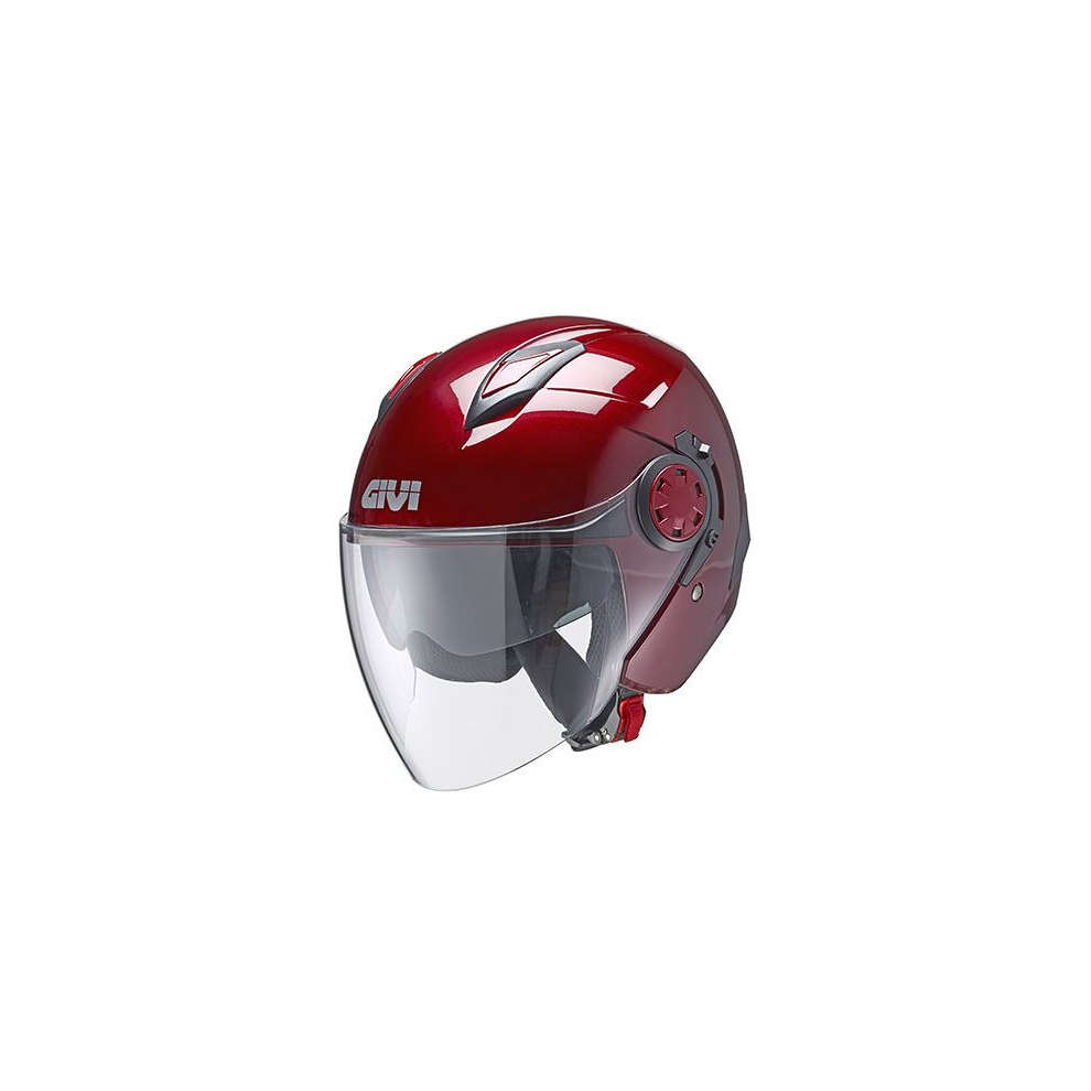 Casco Jet 12.3 Stratos bordeaux Givi