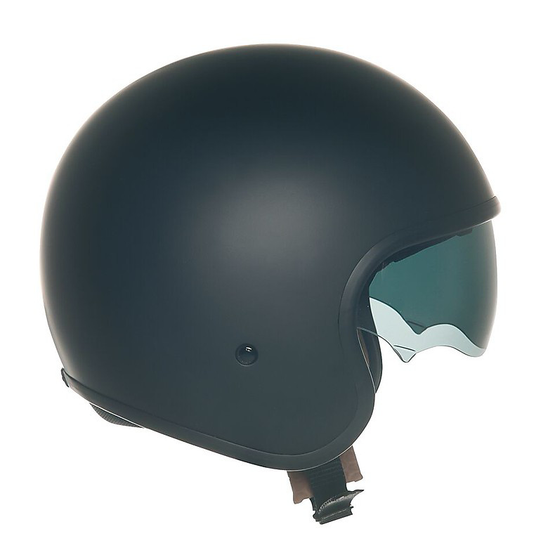 Casco Jet 70's Plain nero opaco Suomy