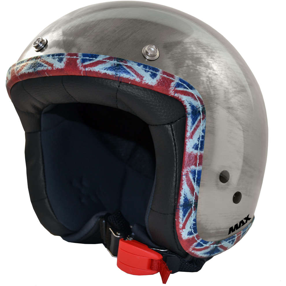 Casco Jet Flag Acciao Uk MAX - Helmets