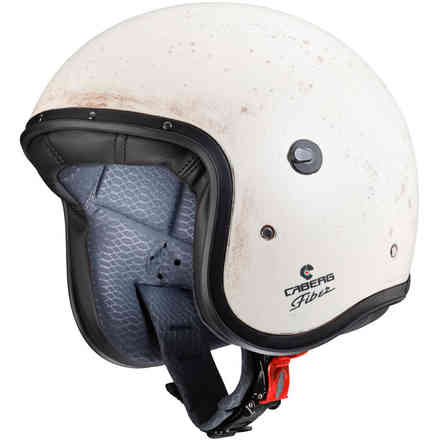 Casco Jet Freeride Old White  Caberg