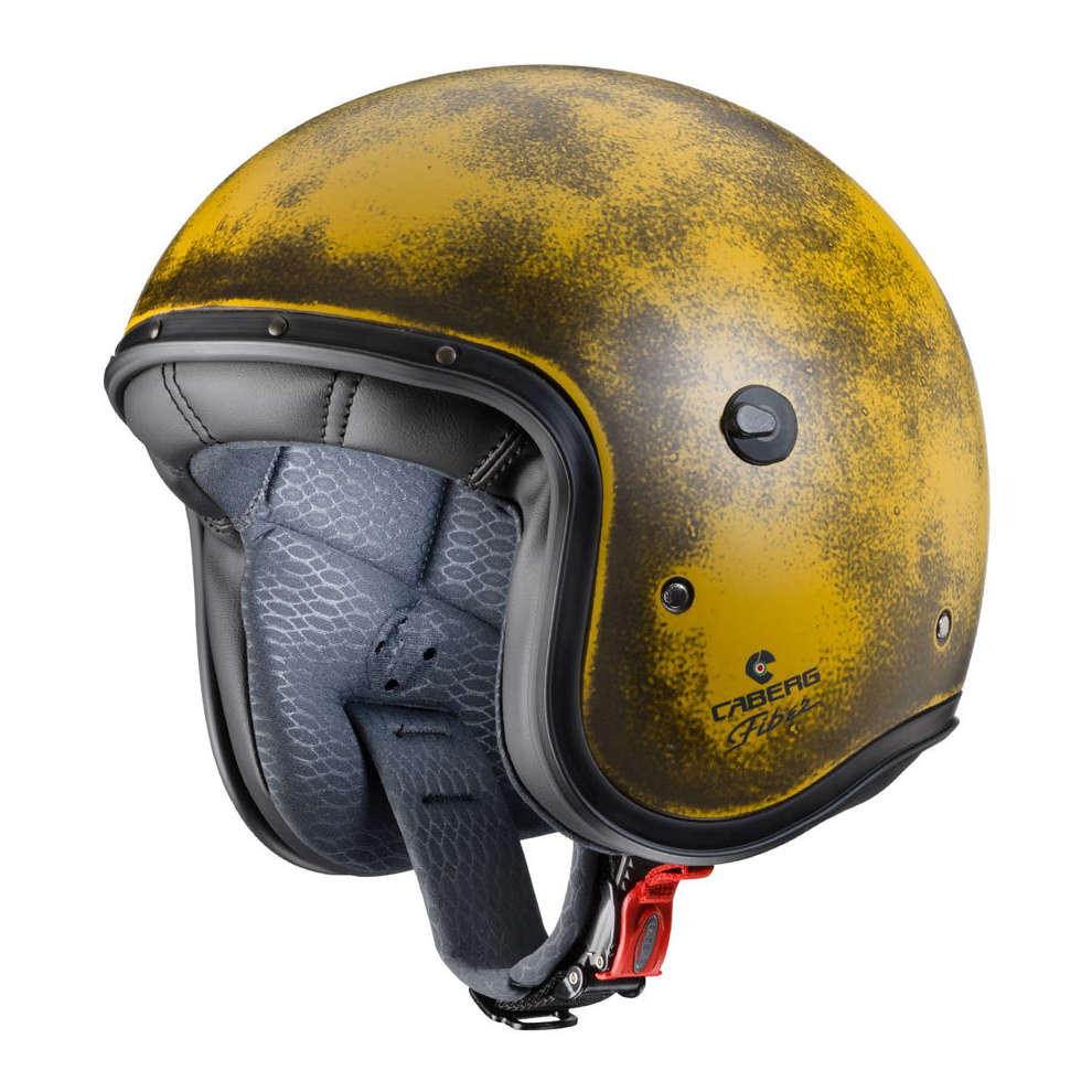 Casco Jet Freeride Yellow Brushed  Caberg