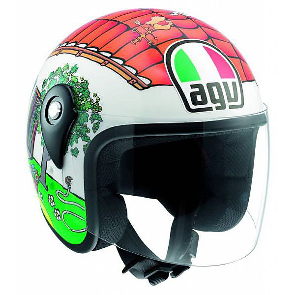 Casco Junior Open Valentino's house Agv