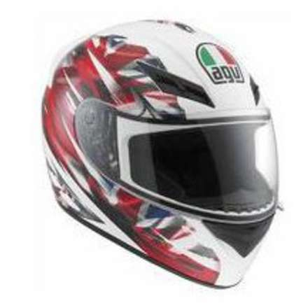 Casco K-3 UK Flag Agv