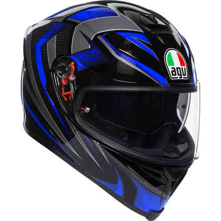 Casco K-5 S Multi Hurricane 2.0 nero blu Agv