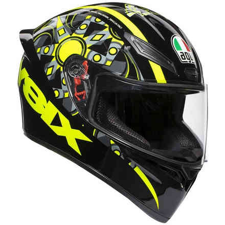 Casco K1 E2205 Top Nero Opaco Agv