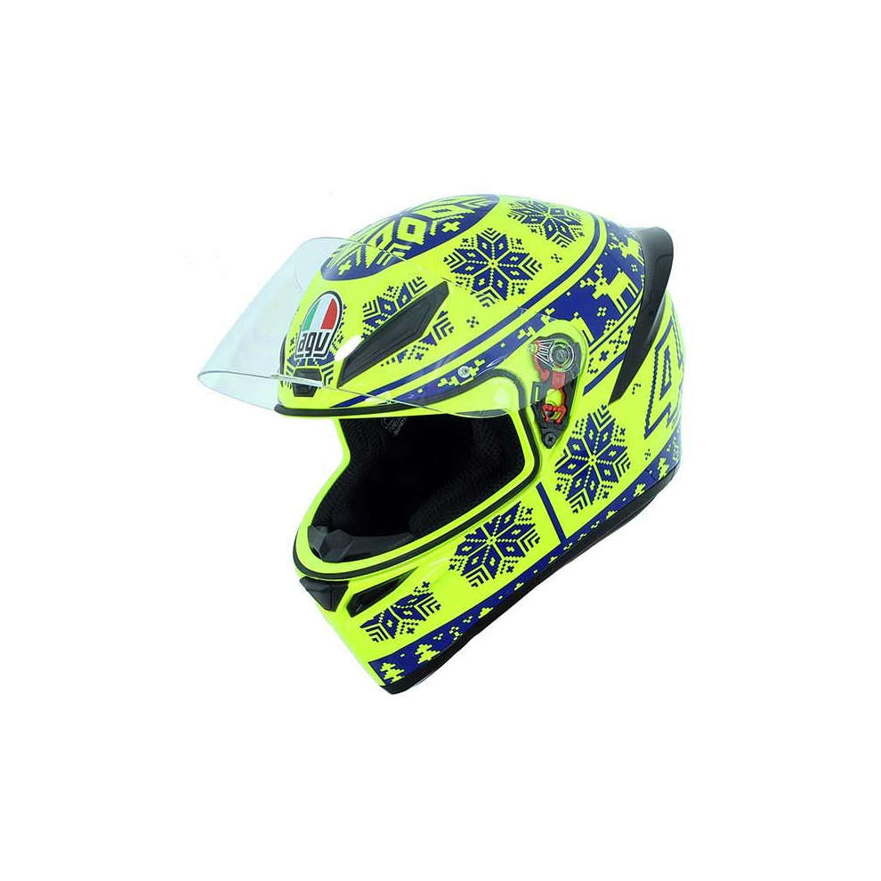 Casco K1 Top Winter Test 2015 Agv