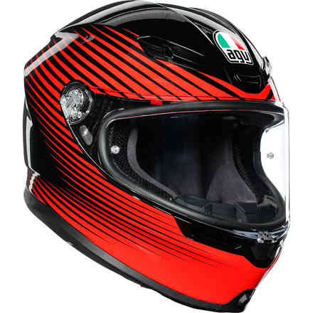 Casco K6 Agv Ece Multi Rush  Agv