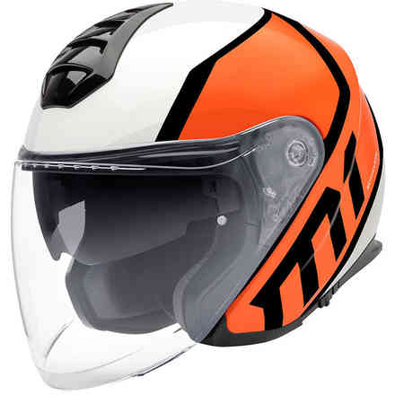 Casco M1 Flux arancio Schuberth
