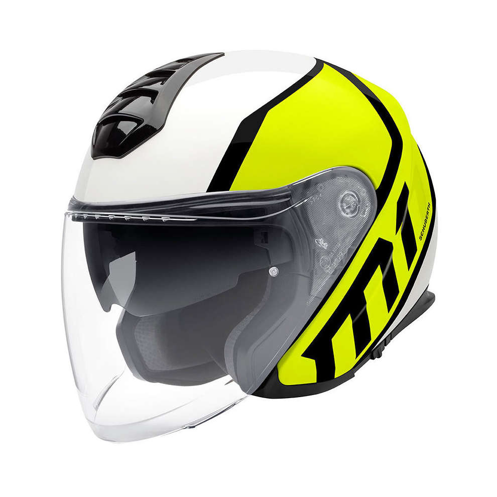 Casco M1 Flux giallo Schuberth