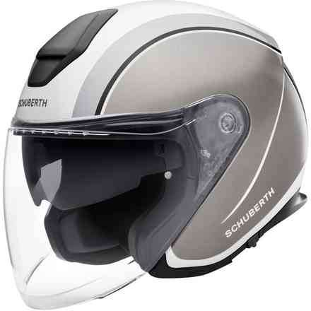 Casco M1 Pro Ece Outline Grey Schuberth