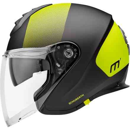 Casco M1 Resonance Giallo Schuberth