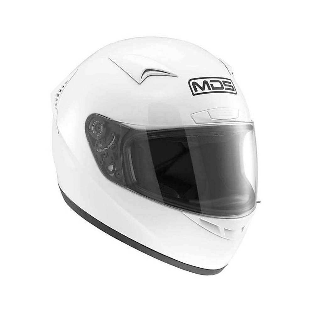 Casco M13 Solid bianco Mds