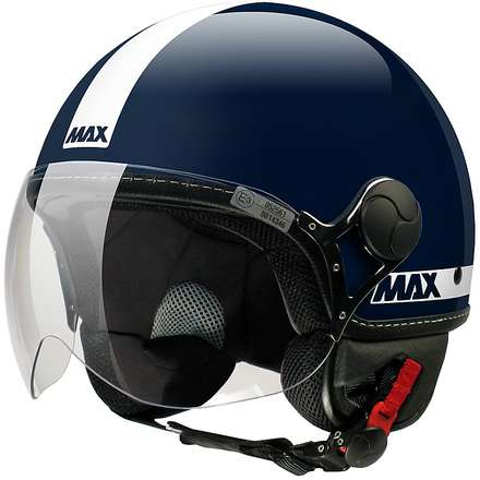 Casco Max Power Blu Midnight-Bianco MAX - Helmets